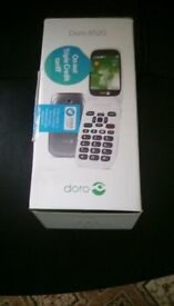 doro mobile phone not new but still in box