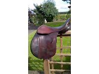Cliff Barnsby Saddle GP WH 17 inch