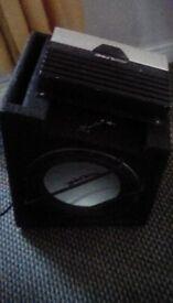 Aline amp . mrvt420 with speaker work fine