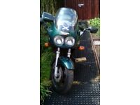 For sale my 1996 Triumph Sprint. Low mileage for age and still a solid bike.