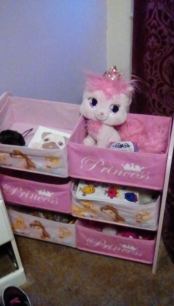Disney Princess Toy Storage In Marton In Cleveland North Yorkshire