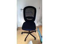 Ikea FLINTAN Black Chair