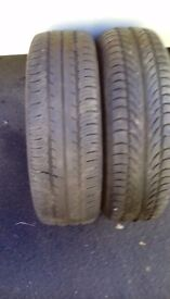 195/65/15 tyres x2 fitted or collect