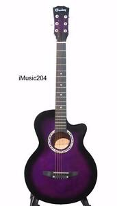 iMusic204 Acoustic Guitar for beginners students 38 inch brand New