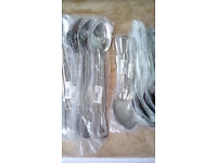 Brand New - Stainless Steel Serving Spoons by Vogue - 11inches and 13inches