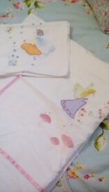 Laura Ashley girls single quilt cover and pillow case