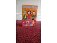 Set of 3 Jacqueline Wilson books Triple Trouble