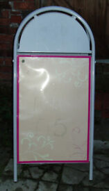Used Pavement sign/Advertising board for business use etc.