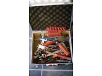 Tool carry case and tools