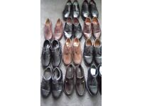 11 pairs of mens shoes