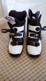 Alpinestar motocross boots *like new*