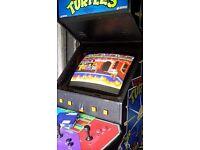Teenage mutant ninja turtles full size arcade machine