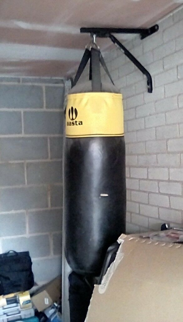 Adult punch bag and brackets. Birmingham ...