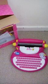 Barbie kids electronic typerwriter