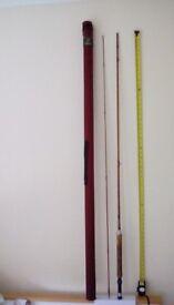 Fly fishing rod split cane Orvis hand made