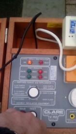 Clare series two pat tester