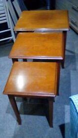 Vintage G Plan Nest of Tables (3) in Teak