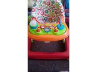 Baby walker excellent condition