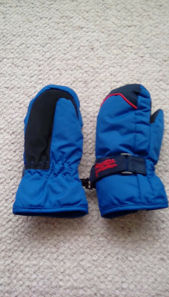 Regatta Waterproof gloves / mittens in blue 3-4 years