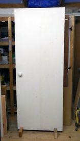 Reclaimed internal fire door