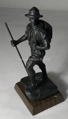 Boy Scout Recognition Resin Award Hiking Scout Bronze Finish FREE SHIPPING
