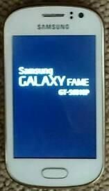 Samsung Galaxy Fame Smartphone.