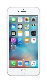 Apple iPhone 6s 64GB in Silver Factory Unlocked Excellent condition