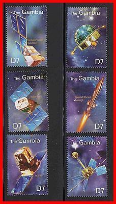 Gambia   Space Satellites Mnh