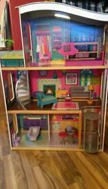 Barbie items.