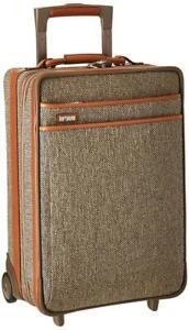 NEW Hartmann Tweed Collection Carry On Expandable Upright, Natural Tweed, One Size