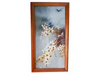 Home decor wall art painting Picture-Flowers framed