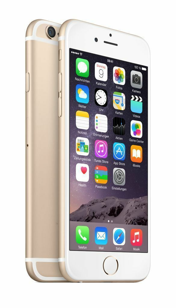 Apple iPhone 6+ Plus-16GB 64GB GSM Factory Unlocked Smartphone Gold Gray Silver|