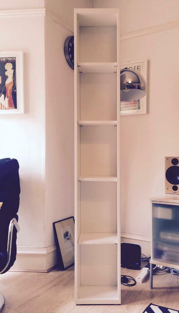 Ikea Besta Tall Narrow Shelving Unit Games Dvds Hall Bathroom Storage In Dundee Gumtree