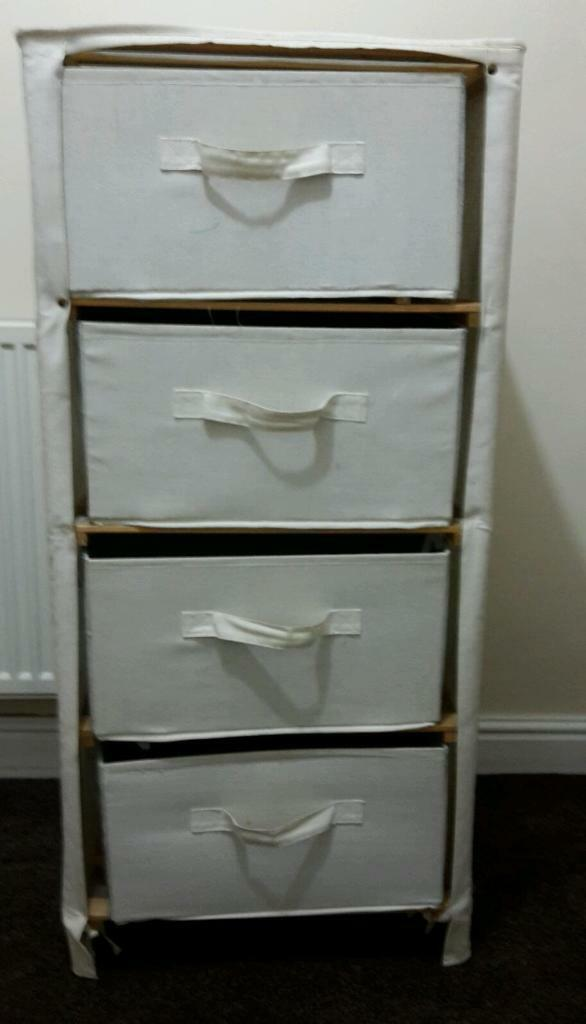 Canvas Chest Of Drawers In Bradford West Yorkshire