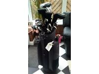 Full Set of clubs and bag. Taylor made R11s Driver 10.5 reg. Mizuno MX19 3-sw irons woods putter