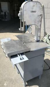 Hobart meat band saw - floor model - refurbished