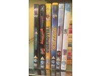 6 DVD kids films