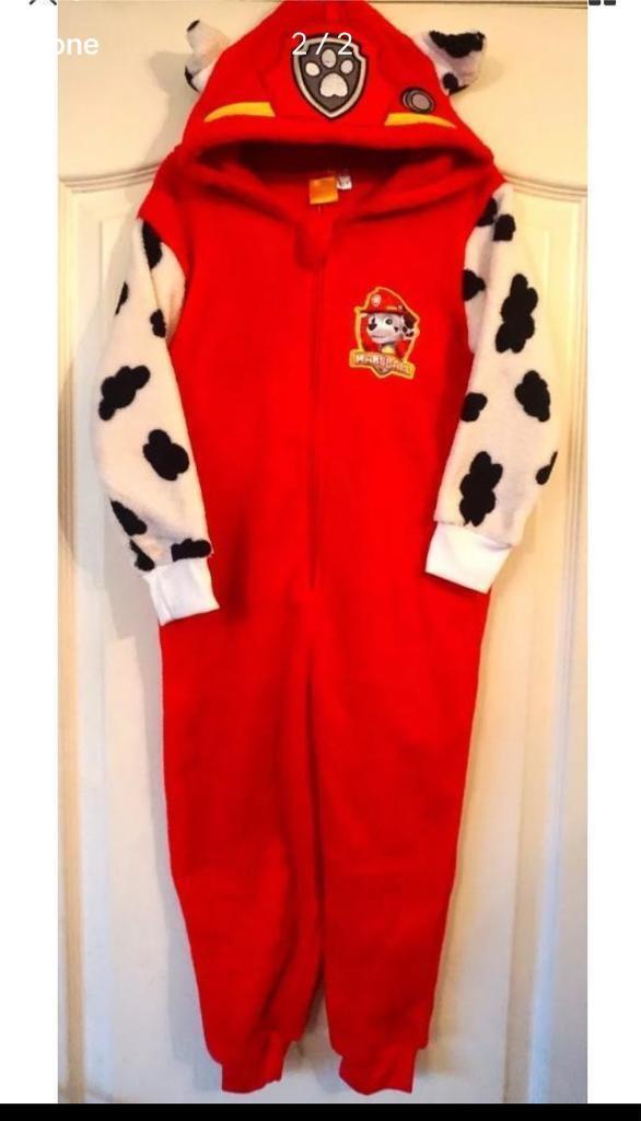 c39baace090f Brand new paw patrol fleece sleepsuit pyjamas
