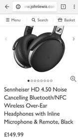 Sennheiser wireless noise cancelling headphones