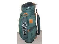 Quality Wilson golf bag Cart bag Trolley bag Super condition Lightly used Lots of storage Rain hood