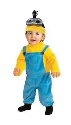 NEW INFANT TODDLER KEVIN MINON COSTUME DESPICABLE ME HALLOWEEN DRESS UP 3T-4T - Kevin Up Halloween Costume