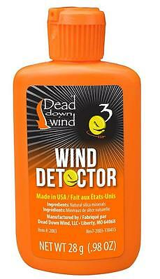 Dead Down Wind Checker Odorless Wind Detector Micro Powder Hunting Stalking (Wind Detector)