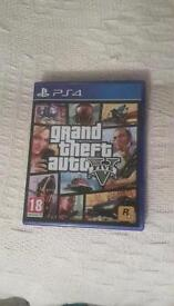 PS4 Grand Theft Auto game