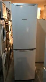 Tall Hotpoint Nice Fridge Freezer ( Fully Working & 90 Days Warranty)