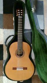 Burguet 1A Classical Guitar. Cedar top.