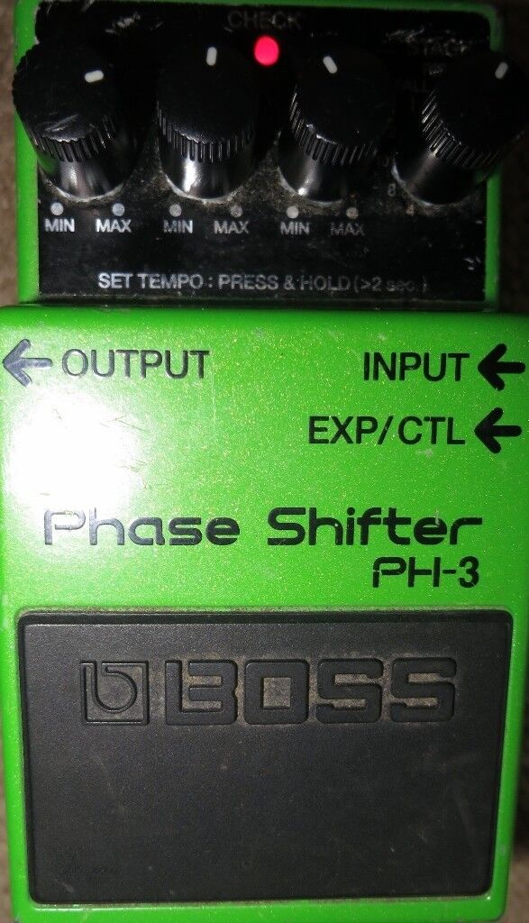 BOSS PH-3 Phase Shifter Guitar Effects Pedal FX