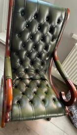Chesterfield slipper chair selling in wayfair for £1200