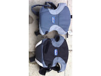 2 Chicco baby carriers