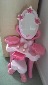 *ELC* TOY DRESSING TABLE & Heart shaped STOOL