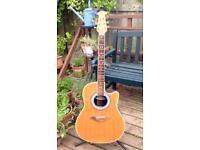 Ovation Celebrity CC57 shallow bowl electro acoustic guitar.. 1990s